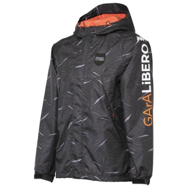 レインジャケット ブラック1 O ( KF512RJ21-BK1-O / JSK10336680 )【 KAPPA 】【QBI35】