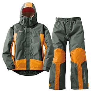 防水防寒スーツ プロップ チャコール M ( 30338253 / HN10340972 )【 ロゴス 】【QBJ38】