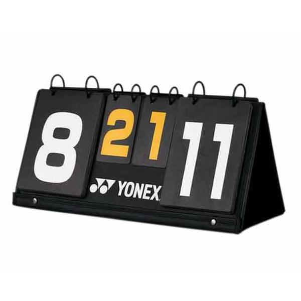 AC372-007-0 バドミントンスコアボード ブラック (YNX10365703) 【 ヨネックス 】【QBJ38】
