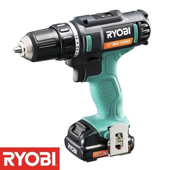 BD-1100 充電式ドライバドリル (RY10372889) 【 RYOBI 】