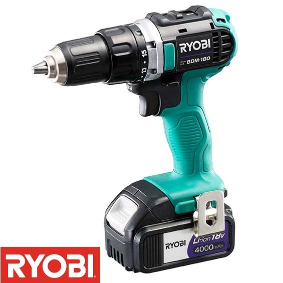 BDM-180 充電式ドライバドリル (RY10372893) 【 RYOBI 】