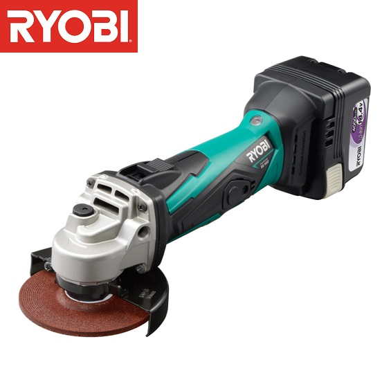 BG-1410 充電式ディスクグラインダ (RY10372896) 【 RYOBI 】