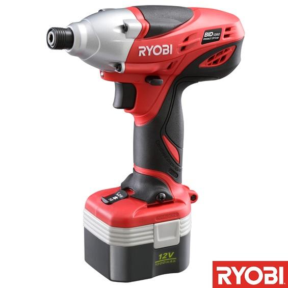 BID-1260 充電式インパクトドライバ (RY10372905) 【 RYOBI 】【QCA04】