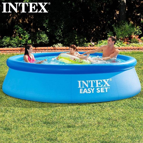 インテックス 家庭用プール プール 家庭用 水遊び 子供 期間限定今なら送料無料 305 イージーセット ベビー CAG10381210 U-28120 お得セット QCB27