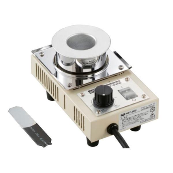 POT-28C ソルダーポット 鋳鉄ツボ (ATG10383455) 【 goot 】【QBI35】