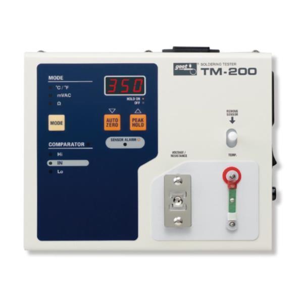 TM-200 はんだこてテスター (ATG10383496) 【 goot 】【QBI25】
