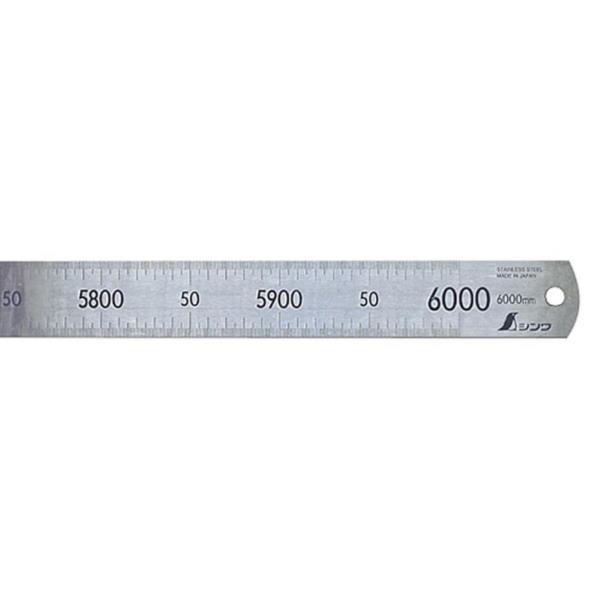 #14109 直尺 ステン 6m (SSO10388382) 【 シンワ測定 】
