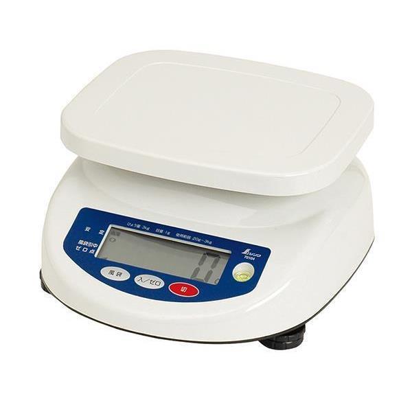 #70104 デジタル上皿はかり 3kg取引証明以外用 (SSO10388803) 【 シンワ測定 】