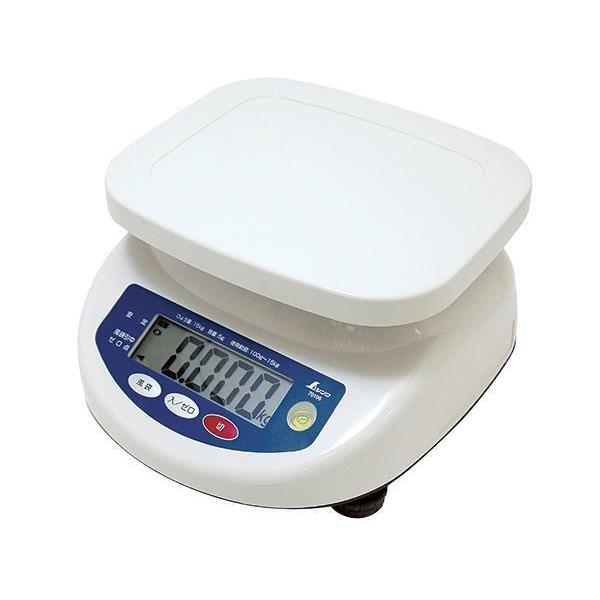 #70106 デジタル上皿はかり 15kg取引証明以外用 (SSO10388805) 【 シンワ測定 】