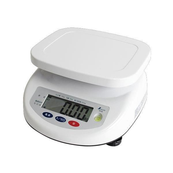 #70193 デジタル上皿はかり 15kg取引証明用 (SSO10388809) 【 シンワ測定 】