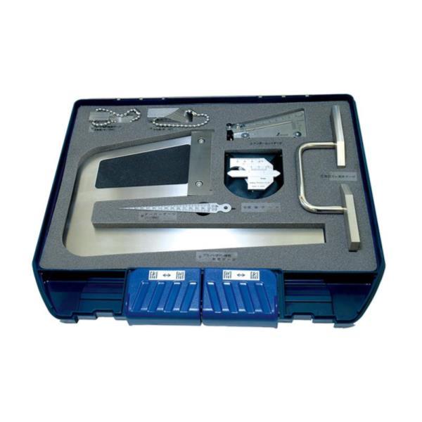 #97794 鉄骨精度測定器具7点セット (SSO10389288) 【 シンワ測定 】【QBI35】