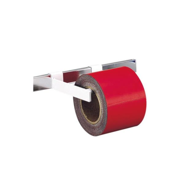 #74015 マグシート つやなし10cm×10m0.8mm厚 赤ロール (SSO10389797) 【 シンワ測定 】【QCA04】