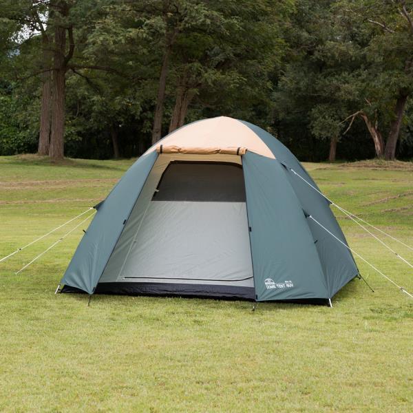 BDK-76 ドーム型テント5 UV グリーン (KA10394832) 【 バンドック 】【QBI35】