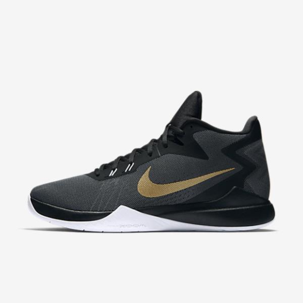 852464-005 NIKE ZOOM EVIDENCE ANTHRACITE (JSN10395699) 【 NIKE 】