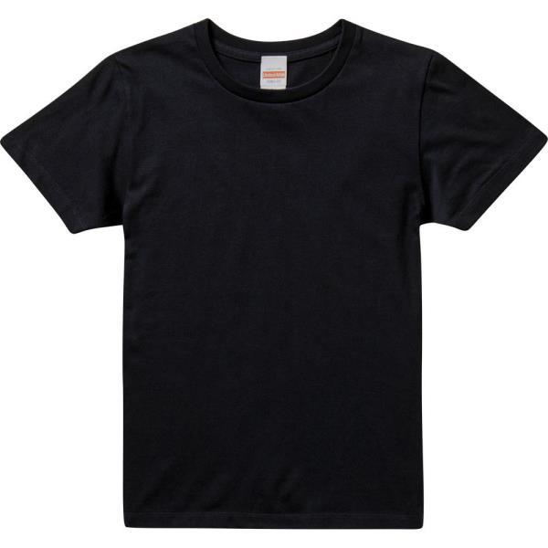 ユナイテッドアスレ レディース Tシャツ カジュアル 推奨 500103C-717 ダークネイビー 5.6オンスTシャツ QCB27 ガールズ UNA10418560 安心の実績 高価 買取 強化中