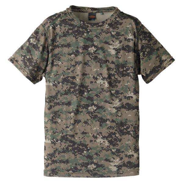 658901-540 ドライクールナイスカモフラージュTシャツ PIXELW/L (UNA10419278)
