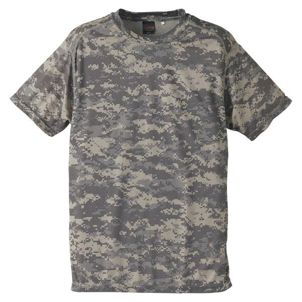 658901-563 ドライクールナイスカモフラージュTシャツ ACU (UNA10419282)