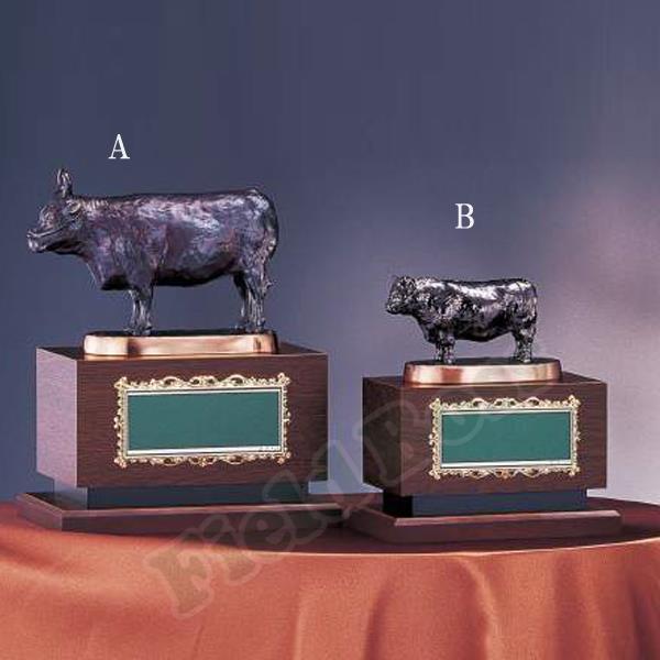 B398-A 肉牛 ブロンズ※プレート別売 (UER10420499) 【 UE6 】【QCA04】