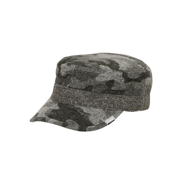 PH758HW15-OB Wool Trail Work Cap OFF BLACK (PHE10527814)