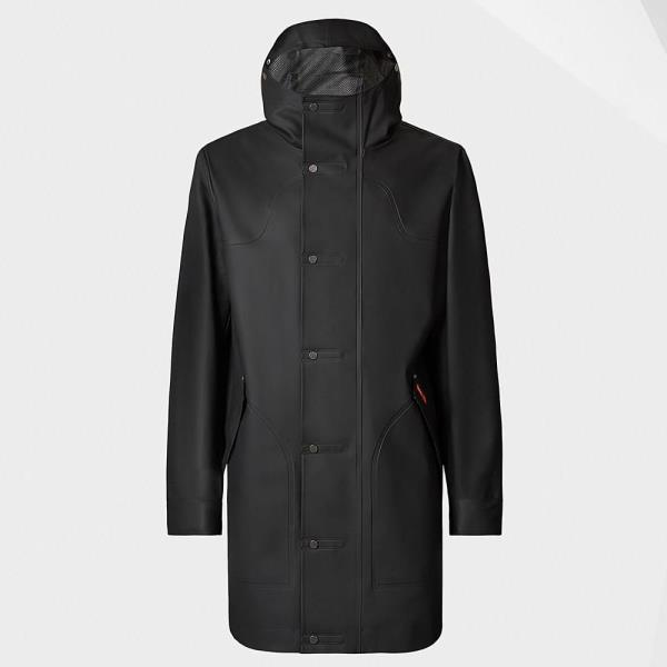MRO4148SAE-BLK M ORI R RUB HUNTING COAT BLACK (HUN10529103) 【 ハンター 】