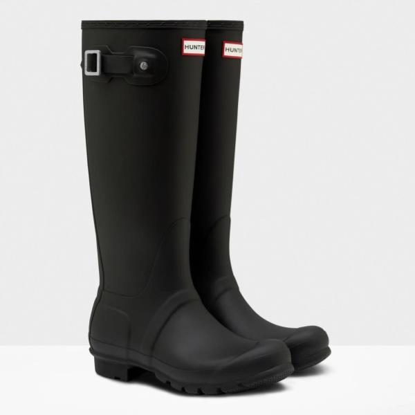 長靴 ブーツ レインブーツ レインシューズ ロングブーツ 防水 雨具 ハンター レディース WFT1000RMA-BLK WOMENS ORG TALL BLACK ( HUN10529503 ) 【 ハンター 】【QCA04】