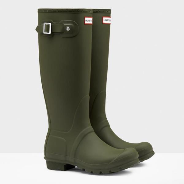 長靴 ブーツ レインブーツ レインシューズ ロングブーツ 防水 雨具 ハンター レディース WFT1000RMA-DOV WOMENS ORG TALL DARK OLIVE ( HUN10529506 ) 【 ハンター 】【QCA04】