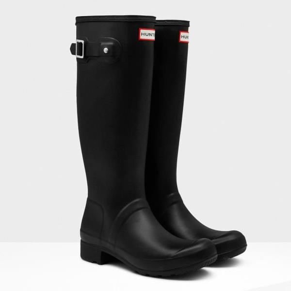長靴 ブーツ レインブーツ レインシューズ ロングブーツ 防水 雨具 ハンター レディース WFT1026RMA-BLK ORIGINAL TOUR BLACK ( HUN10529549 ) 【 ハンター 】【QCA04】