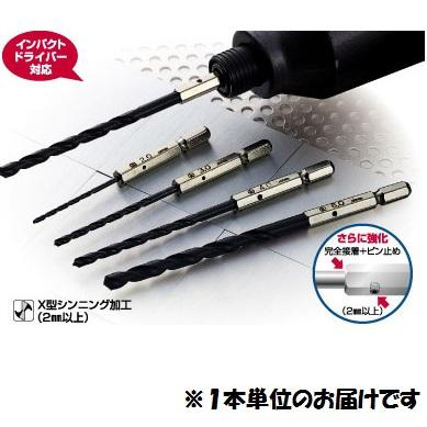 ONISHI 工具 ドリル 新作からSALEアイテム等お得な商品満載 #4957934070585 春の新作シューズ満載 6角軸鉄工用ドリル QCB02 No.20 5.8mm 大西工業 ONI10536952