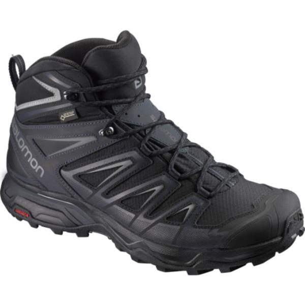 L40129300 X ULTRA 3 WIDE MID GORE-TEX(R) BLACK/INDIA INK/MONUMENT (SAM10545443) 【 サロモン 】