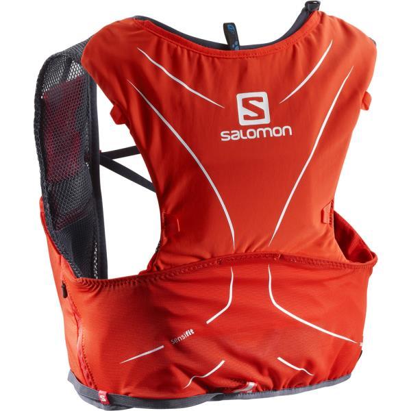 【送料無料】 L40139400 ADV SKIN 5 SET FIERY RED/GRAPHITE (SAM10545518) 【 サロモン 】【QBI25】