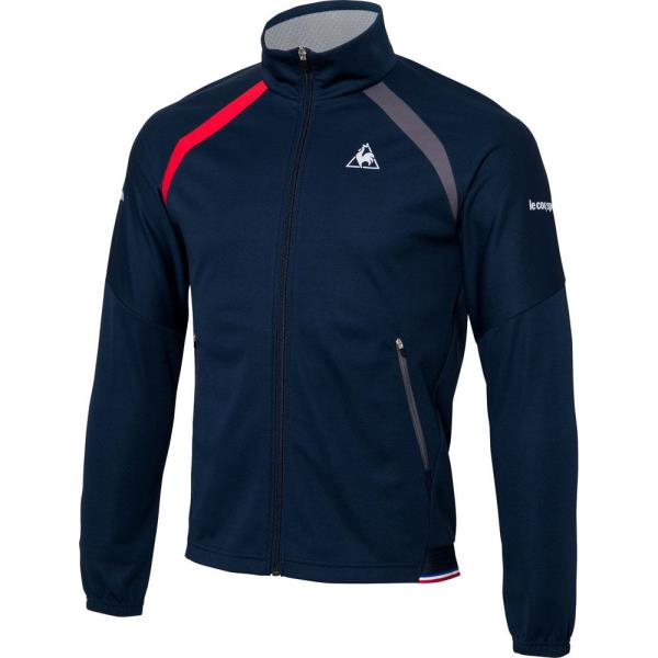 QTMLJF20-NVY メンズ テニスウェア NEXTEP ボンディングジャケット ネイビー (LCQ10547184) 【 le coq sportif 】