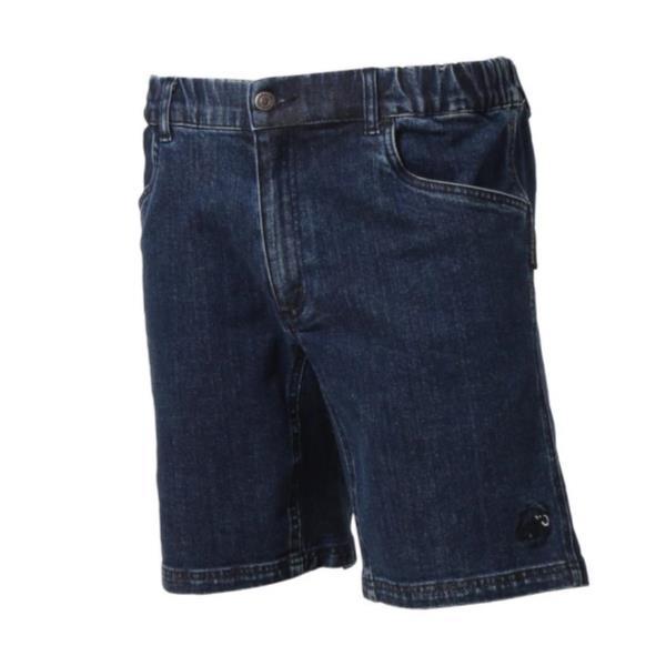 1023-00080-5818 CHALK Boulder Shorts Men blue denim (MAT10552216) 【 マムート 】【QBI25】