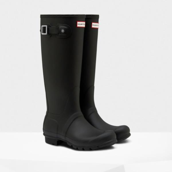 長靴 ブーツ レインブーツ レインシューズ ロングブーツ 防水 雨具 ハンター レディース WFT1000RMA-BLK WOMENS ORG TALL BLACK ( HUN10555357 ) 【 ハンター 】【QCA04】