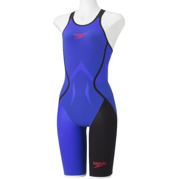 SD48H03-BL FASTSKIN LZR RACER J ウィメンズニースキン レディース 競泳用水着ブルー (JSS10561229) 【 スピード 】