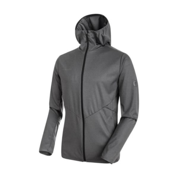 1011-00360 Ultimate V Tour SO Hooded Jacket AF Men black melange (MAT10563381) 【 マムート 】【QBI35】
