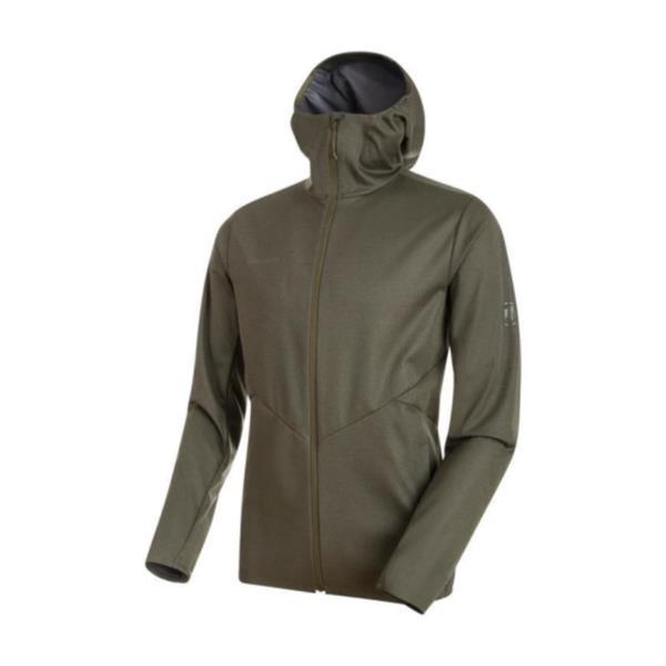 1011-00360 Ultimate V Tour SO Hooded Jacket AF Men iguana melange (MAT10563385) 【 マムート 】【QBI35】