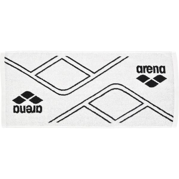 AEALGE11-WHT スポーツタオル ホワイト (ARN10568400) 【 ARENA 】【QCA04】