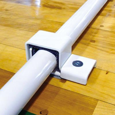 Y56880 ハンドゴール用床固定金具(8個組) (ENW10575197) 【 EVERNEW 】【QBI35】