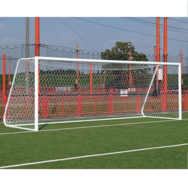 S-0104 アルミサッカーゴール 一般用 (SWT10576273) 送料【お見積】【 三和体育 】