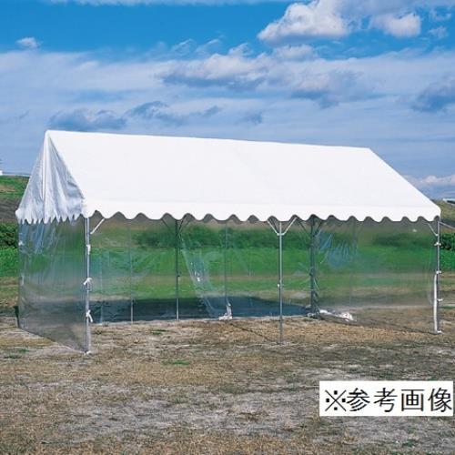 S-0549 ささっとテント用透明三方幕 3.6m×7.2m用 (SWT10576317) 送料ランク【B】【 三和体育 】