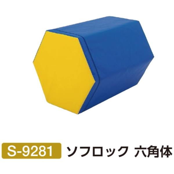 S-9281 ソフロック 六角体 (SWT10576480) 送料【お見積】【 三和体育 】