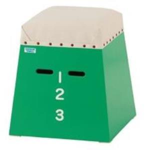 S-7893 ミニミニ跳箱(入門用)緑 (SWT10576566) 送料ランク【C】【 三和体育 】