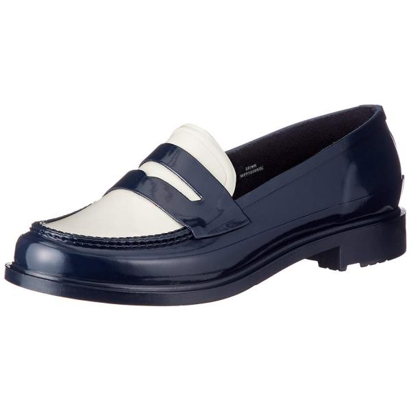 WFF1006RGL-NOW ORIGINAL PENNY LOAFER NAVY/OFF WHITE (HUN10577244) 【 ハンター 】