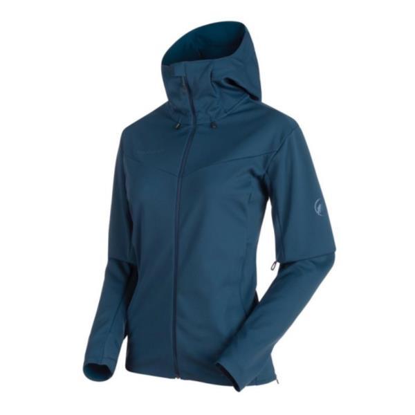 1011-00340-50022-M Ultimate V SO Hooded Jacket AF Women jay-jay melange M (MAT10615443) 【 マムート 】