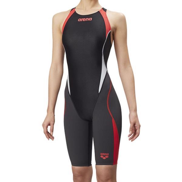 ARN8080W-BKRG Fina承認 セイフリーバックスパッツ アクアハイブリッド レディース 競泳用水着 (ARN10618764) 【アリーナ 】