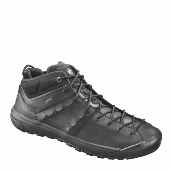 3020-06090-0052 Hueco Advanced Mid GTX(R) Men black-black (MAT10631569) 【 マムート 】【QCA04】