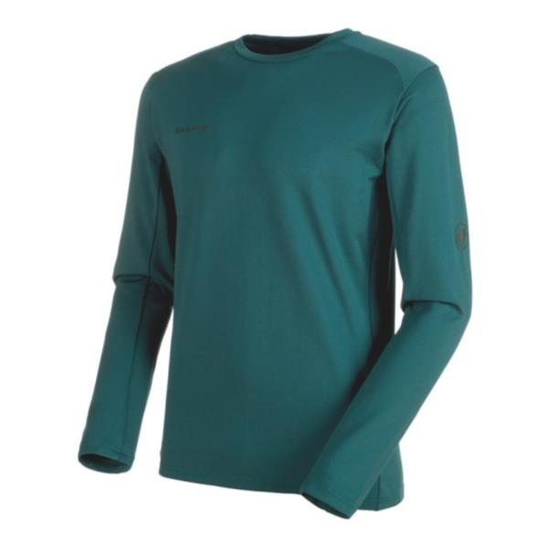 1014-00620-7094 Runbold ML Crew Neck teal (MAT10631964) 【 マムート 】