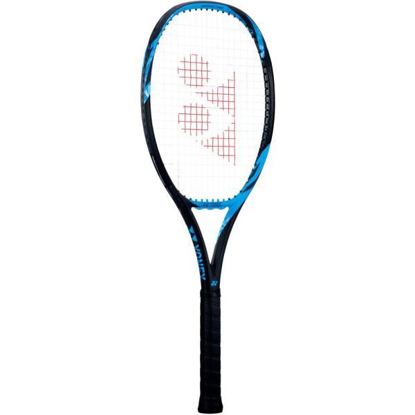 硬式テニス用ラケット(フレームのみ)Eゾーン 100(SONY製スマートテニスセンサー対応) ブライトブルー (YNX10637336) 【 Yonex 】