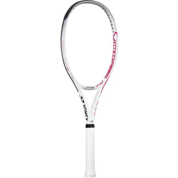 硬式テニス用ラケット(フレームのみ) Vコア SV スピード クリアーレッド/WHT (YNX10638304) 【 Yonex 】