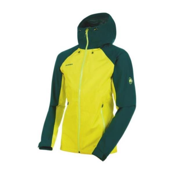 Convey Tour HS Hooded Jacket Men canary-dark teal (MAT10664055) 【 MAMMUT 】